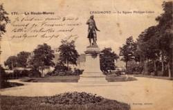 Chaumont – Le square Philippe Lebon