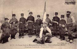 """Dommartin-le-Franc – La bonne garde de Dommartin-le-Franc et Courcelles-sur-Blaise – Un groupe d'acteurs de """"France avant tout"""""""