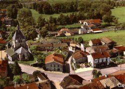 Dommartin-le-Franc – La route nationale 60 – Vue aérienne