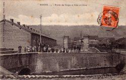 Manois – Entrée des forges et cités ouvrières