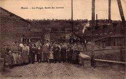 Manois – Les forges – Sortie des ouvriers