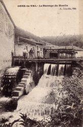 Osne-le-Val – Le barrage du moulin