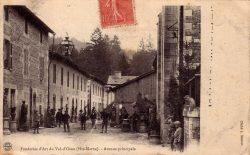 Osne-le-Val – Fonderies d'art du Val d'Osne – Avenue principale