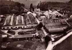 Sommevoire – Vue aérienne de l'usine Durenne