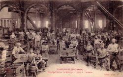 Sommevoire – Principal atelier de moulage – Usine A. Durenne