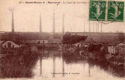 Saint-Dizier – Marnaval – Le canal de dérivation et les forges