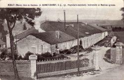 Morley – Usine du fourneau (A. Bernet-Charoy propriétaire-exploitant) – Instruments et Machines agricoles