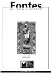 Intérieur du faire-part de décès des époux André, prière à Notre-Dame de l'usine