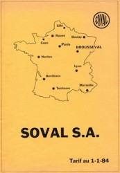 SOVAL S.A. Brousseval