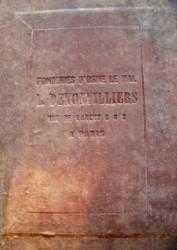 Fonderies d'Osne-le-Val  – L. Denonvilliers Rue de Lancry 6 & 8 à Paris