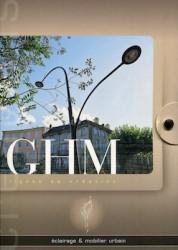 GHM – Éclairage et mobilier urbain Lignes de création estampille, aldus, alizéa, flore, orléane urbino, ambiance