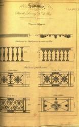 Ornements de la manufacture Savanne