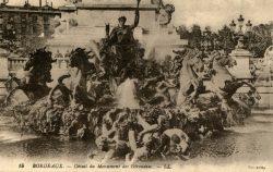 Bordeaux – Détail du monument des Girondins