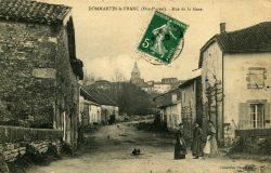 Dommartin-le-Franc – Rue de la Gare