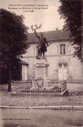 Doulevant-le-Château – Monument aux morts de la Grande Guerre (1914-1918)