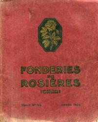 Fonderies de Rosières (Cher) – Tarif n° 46