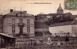 Dommartin-le-Franc – Une vue