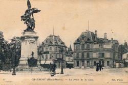 Chaumont – La place de la gare