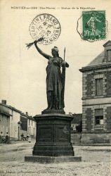 Montier-en-Der – Statue de la République