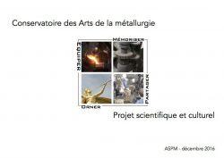 Conservatoire des Arts de la métallurgie (projet scientifique et culturel)