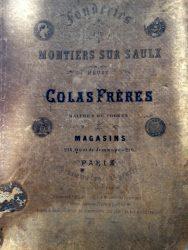 Fonderies de Montiers-sur-Saulx (Meuse) – Colas Frères, maitres de forges