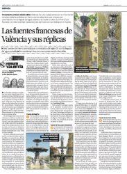 Las fuentes francesas de Valencia y sus réplicas