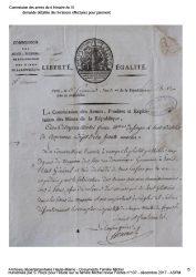 Commandes et marchés – Dossier  Frères Michel   (AD 52)