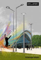 ECLATEC – La vie, la ville, la nature – Éclairage urbain LED