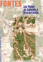 Plan d'Écot-la-Combe – 1720