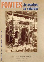 Les forges de Marnaval à l'exposition universelle de Paris (1889) : se montrer, se valoriser…