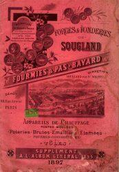 Forges et fonderies de Sougland – Fourmies et Pas-Bayard – Supplément à l'album général de 1894