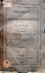 Fragment de statistique minéralogique et métallurgique