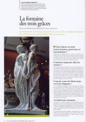 La fontaine des Trois Grâces (Fontainebleau)