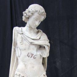 Groupe sculpté : Saint Michel et le dragon