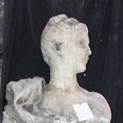 Statue : Femme, dite : La Navigation