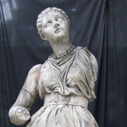 Statue : Femme, dite : L'Astronomie